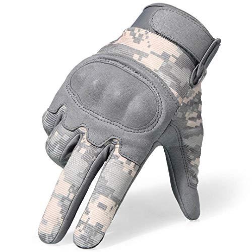 Touchscreen Handschuhe Camouflage Tactical Military Paintball Motorrad Motocross Touring Schutzausrüstung Vollfingerhandschuh Camouflage M -