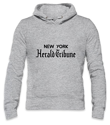 New York Herald Tribune Mens Hoodie XX-Large