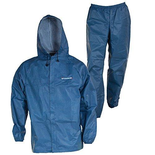 el12104–21-xx eco-lite Regen Anzug mit Tasche, blau