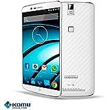 "Komu K70 4G LTE Blanco Octacore Android 5,1 Lollipop 3 GB RAM 16GB ROM 5,5"" fullHD"