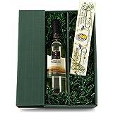 Geschenk Set Süße Verführung (1 x 0.75 l Chardonnay, 1 x 200 g weißem Nugat)
