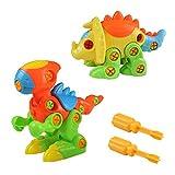 Dinosaures Enfant Jouet de Construction Puzzle Jeu à Assemblage et Démontage pour...
