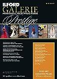 ILFORD GALERIE Prestige FineArt Smooth Pearl 270 GSM A3-297 mm x 420 mm 25 Blatt