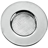 Metaltex 297575010 Haarfangsieb, Inox, 75 mm