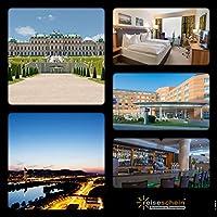 Schein da viaggio buono regalo 3giorni in * * * * Hilton Garden Vienna South di Vienna erleben