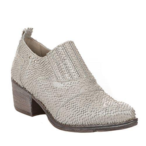 Boots femme - KHRIO - Blanc casse - 2821 - Millim Blanc