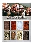 Chili Chocolate Muffins – 8 Gewürze für die mexikanischen Muffins (60g) – in einem schönen Holzkästchen – mit Rezept und Einkaufsliste – Geschenkidee für Feinschmecker – von Feuer & Glas