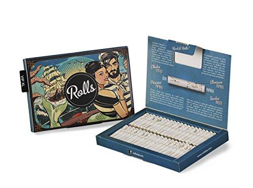 Rolls Smart Filter Tips - 80 Stück (5mm Slim) VIP Pack XL (Blau) I Rolls69 Vorteilspack I Eindrehfilter mit Kühlsystem - Spezial Filter Keine Aktivkohle - fertig vorgerollter Filtertip