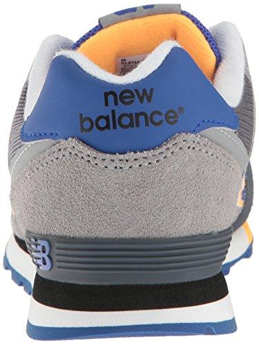 New Balance Unisex-Kinder 574 Ausbilder Grau / Blau