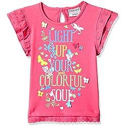 Cherokee Girls' T-Shirt (268042771_Fuchsia_02Y)