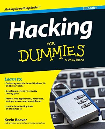 Hacking For Dummies por Kevin Beaver