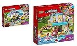 Lego Juniors 2er Set: 10749 Mias Bio Foodtruck + 10763 Stephanies Haus am See