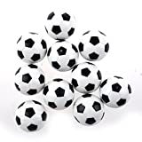 Futbolin - SODIAL(R)10pcs 32mm Futbolin de mesa plastico bola del futbol de tableta