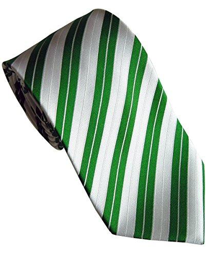 Beytnur Herren Seiden Krawatte Grün/Weiss Handgefertigt Model Nr. K 128.2