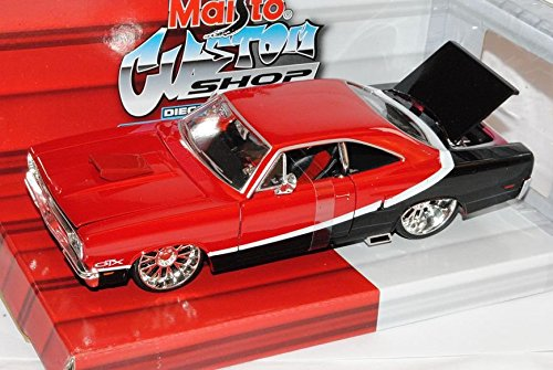 Plymouth GTX Tuning Coupe Rot Schwarz 1970 1/24 Maisto Modell - Plymouth Modelle Auto