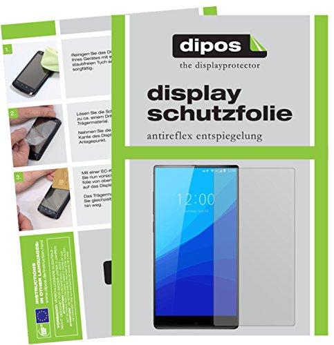 dipos I 2X Schutzfolie matt passend für Umidigi Crystal Plus Folie Bildschirmschutzfolie
