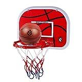 OviTop Basketballständer Basketballkorb Susprendu Basketball Outdoor Basketball Kinder