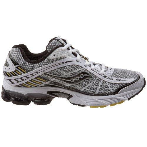 Saucony , Chaussures de running pour homme Blanc/noir/jaune