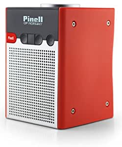 Pinell Go Portable Red radio - Radios (Portable, DAB,DAB+,FM, Red, 24 h)