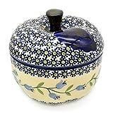 Bunzlauer Keramik-Asador de manzanas Dekor Agnes