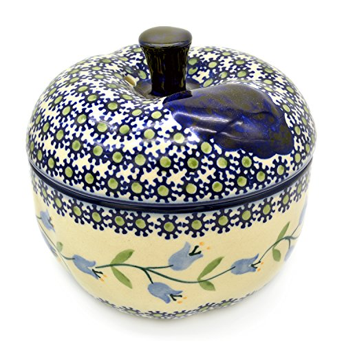 Bunzlauer Keramik Apfelbräter (Dekor Agnes)