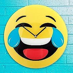 Reloj de Pared Emoticono Risa