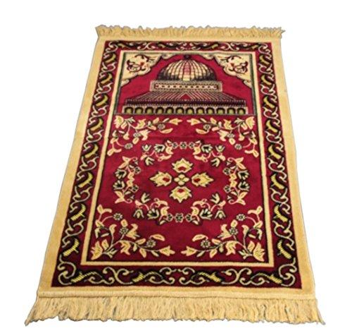 Sandala Islam sajadah Teppich Muslim Ramadan bellebed sajjadah Gebet Matte Rot - Islam-teppich