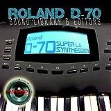 Para Roland D-70enorme cartucho Original de fábrica nueva biblioteca de sonido creado y editores en CD