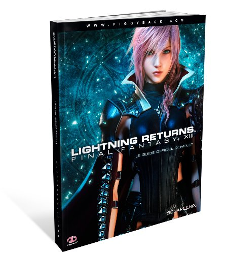 Book's Cover of Guide Lightning Returns  Final Fantasy XIII