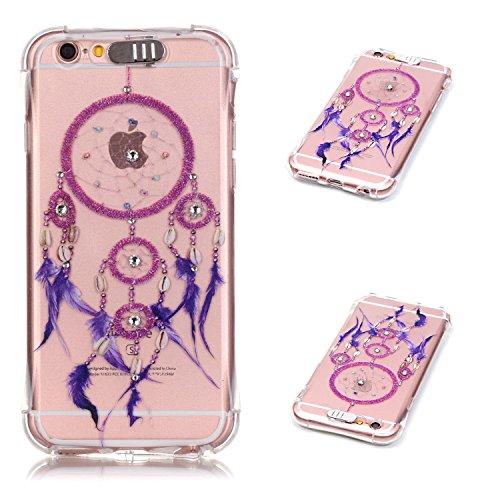 """Coque iPhone 6S Plus, MOONCASE iPhone 6 Plus Etui Ultra Mince Coque Housse Silicone Parfait Cover Case avec Absorption de Choc pour iPhone 6 Plus(2014) / 6s Plus(2015) 5.5"""" - YX03 Série de diamants - YX08"""