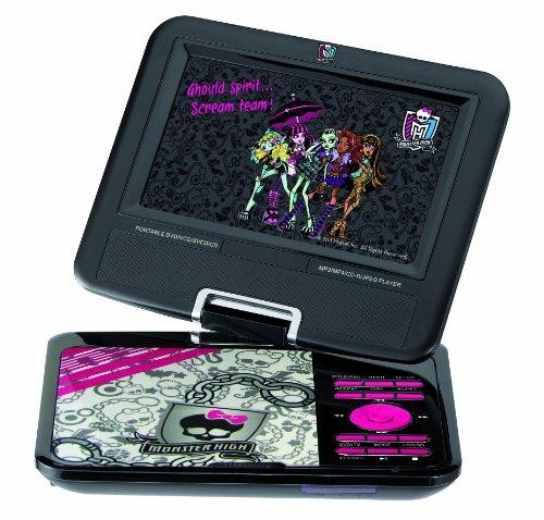 Imagen principal de Ingo MHD001U - Reproductor DVD portátil con diseño de Monster High (rotación de la pantalla de 180°)