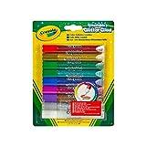 Crayola Colle à paillettes - 9 tubes/paquet
