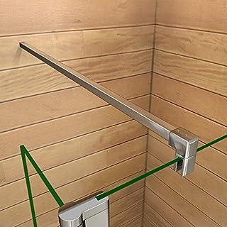 Stabilisierungsstange Haltestange Stabilisator für Duschabtrennung Duschkabine Walk in duschwand dusche Verschiedene Typen 30-140cm F-131