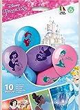 Siad Disney Set 10 Palloncini Principesse, Multicolore, Taglia Unica, 33677