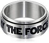 STAR WARS Men's Stainless Steel Spinner Ring Size 12
