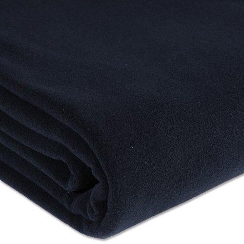 ZOEPPRITZ Soft-Fleece Decke Black, 160x200 cm