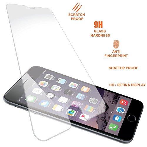 iPhone 6/6Plus Premium vetro temperato pellicola protettiva per schermo Pawtec, qualità HD, bolle, antigraffio, infrangibile per Apple