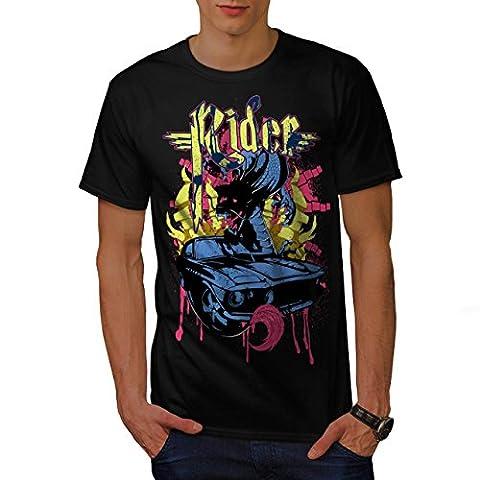 Cavalier Du sang sport Voiture Voiture Men M T-shirt | Wellcoda