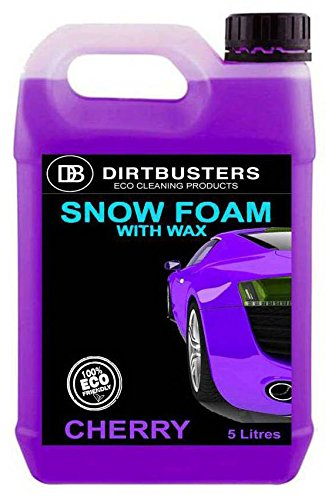 dirtbusters-car-candy-snow-foam-shampoo-cleaner-with-high-gloss-wax-cherry-candy-fragrance-5l-for-pr