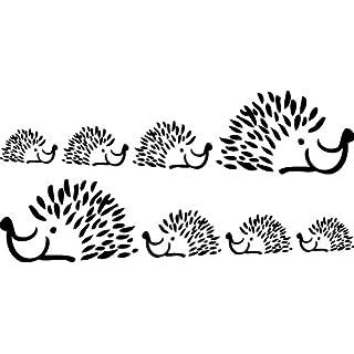 Wandtattoo Herisson 100–118x 57cm
