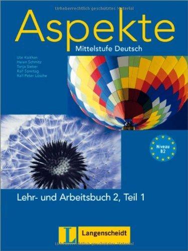 Aspekte in Halbbanden: Lehr- Und Arbeitsbuch 2 MIT Audio-CD Teil 1 by Ralf Sonntag (2009-12-02)