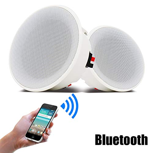 Kit de Altavoces de Techo Bluetooth para Sala de Estar, café, Oficina,...