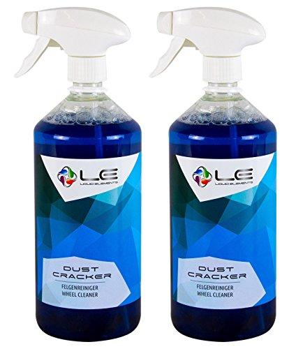 Liquid Elements 2X Dust Cracker Felgenreiniger Flugrostentferner Reiniger 1 L