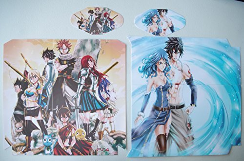 EBTY-Dreams Inc. - Sony Playstation 4 (PS4) - Fairy Tail Anime Guild Natsu Dragneel, Erza Scarlet, Gray Fullbuster, Juvia Lockser, Lucy Heartfilia, Wendy, Gajeel Vinyl Skin Sticker Decal Protector by EBTY-Dreams Inc.
