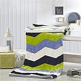 Max Home Manta corrugada Suave Transpirable y Respirable Conveniente para el sofá Cama Manta Fresca de Verano del Amortiguador (Color : Multi - Color, Tamaño : 200 * 230cm)