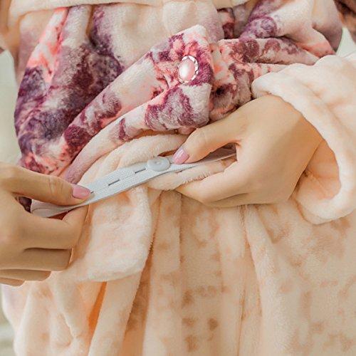 QPALZM Giappone E Corea Del Sud In Autunno E In Inverno Pigiama Di Flanella Caldo Le Donne In Gravidanza, L'allattamento Al Seno Pink