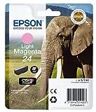 Epson T2426 Tintenpatrone Elefant, Singlepack hell magenta