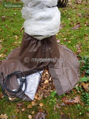Winterschutz , Winterpaket 3,1 Wurzelschutz, 1 Selbstlimierende heizungskabel 4 mtr. , 100cmx400cm Klimatuch
