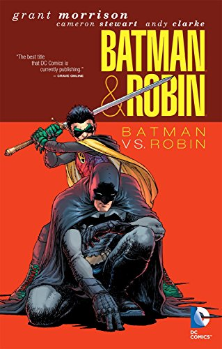 Batman And Robin TP Vol 02 Batman Vs Robin (Batman & Robin) by Dustin Nguyen (Artist), Andy Clarke (Artist), Cameron Stewart (Artist), (18-Nov-2011) Paperback