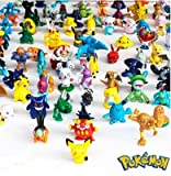 Pokemon Action Figure (24 pezzi), multicolore, un formato